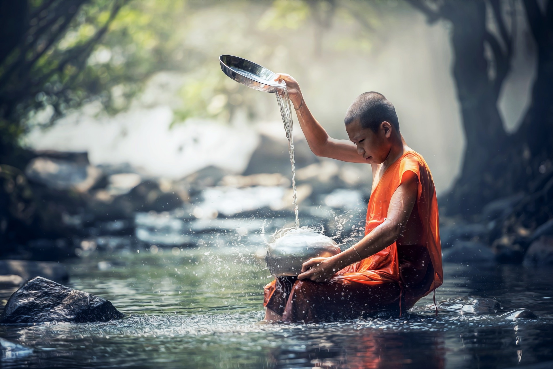 <h1>Monkey-mind to Monk: The Life Cycle of a Meditation Habit</h1> <h4>From the seeds of preaching to the fruits of practice-the 3 phases of meditation</h4>