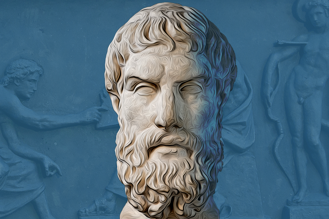 <h1>Epicurus: 4-Part Recipe for Happiness</h1> <h4>And his long shadow through the ages</h4>