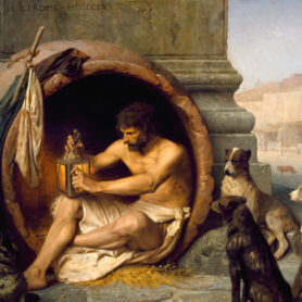 The Living Philosophy of Diogenes theCynic When philosophy was living in an urn and masturbating inpublic- 9 min read