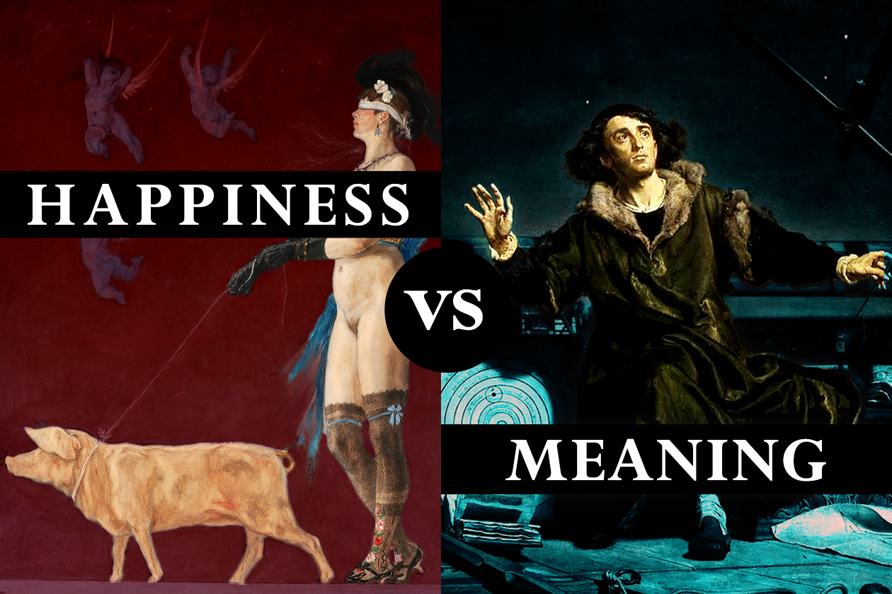 <h1>Why Happiness is Nihilistic and Shouldn't Be Your Goal</h1> <h4>And why Meaning is a more meaningful ideal</h4>